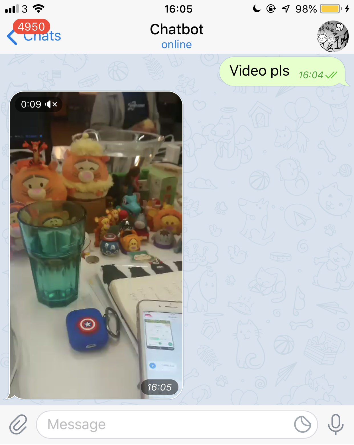 Telegram Video