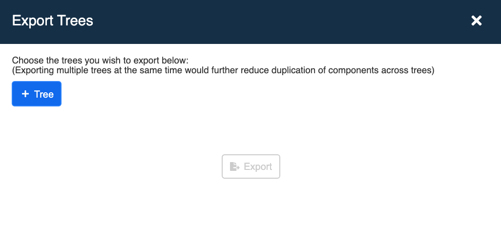 Export Interface