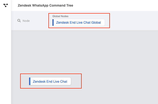 Zendesk Command Tree Structure for Done Command